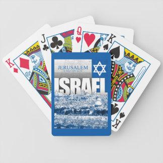 Jerusalem Israel Spelkort