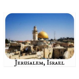 Jerusalem Israel vykort