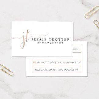Jessie Trotterfotografi Visitkort