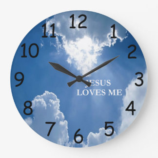 Jesus älskar mig tar tid på stor klocka