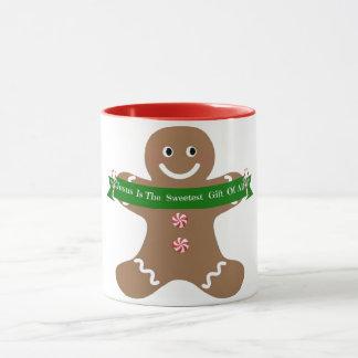 Jesus Is The Sweetest Gift Gingerbread 11 oz Mug