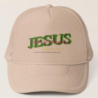 Jesus är det hoppbaseball-/lastbilsförarelocket keps