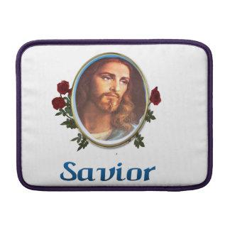 Jesus är frälsaren sleeve för MacBook air