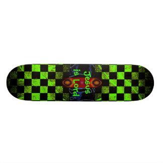 Jesus är Lordskateboarden Skateboard Bräda 20 Cm