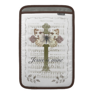 Jesus är min fjärilsipad cover MacBook sleeve