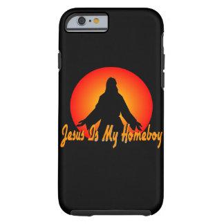 Jesus är min Homeboy Tough iPhone 6 Fodral