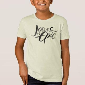 Jesus är religiösa kristna ungar för episk t shirt