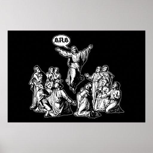 Jesus BRB lol Affisch