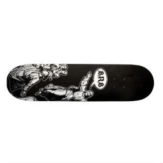 Jesus BRB lol Mini Skateboard Bräda 18,7 Cm