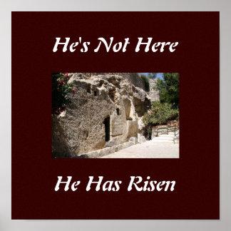 Jesus grav print