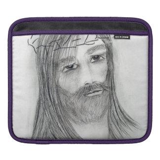 Jesus i dödskamp iPad sleeve