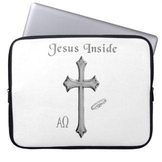Jesus insida laptop fodral