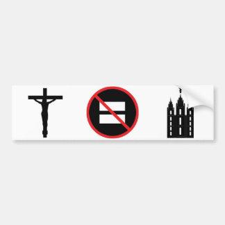 Jesus inte LDS Bildekal