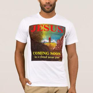JESUS KOMMANDE SNART T-tröja Tee Shirts