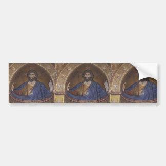 Jesus KRISTUS:  Kyrklig KONST för vintage Bildekal