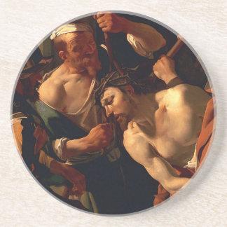 Jesus Kristus med kronan av taggar Underlägg