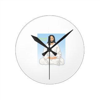 Jesus Kristus på en ta tid på Rund Klocka