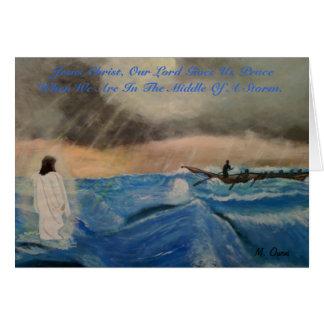 Jesus Kristus, vår Peace. för Lord Ge Us Hälsningskort