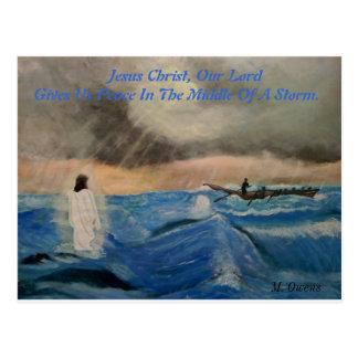 Jesus Kristus, vår Peace. för Lord Ge Us Vykort
