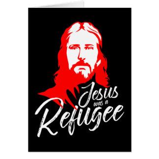 Jesus mörkt hälsningkort hälsningskort