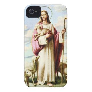 Jesus och Sheeps Case-Mate iPhone 4 Skydd