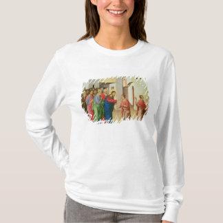 Jesus öppnar ögonen av en född blind för man, 1311 tee shirts