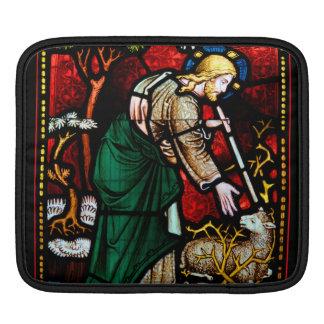 Jesus räddar en Lamb av gudmålat glass Sleeve För iPads
