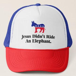 Jesus red inte en elefant - Anti trumfGOP Truckerkeps