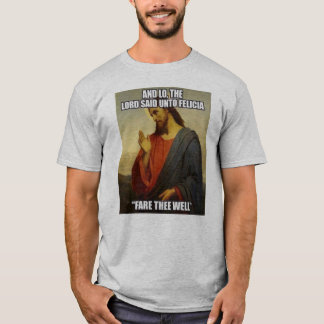 JESUS SADE BYEN FELECIA TEE SHIRT