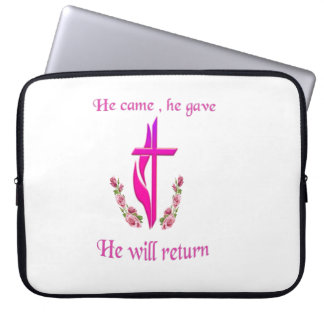 Jesus ska återgånga produkter laptop sleeve