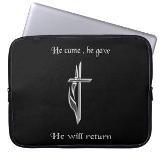 Jesus ska retur laptop sleeve