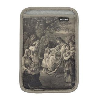 Jesus som välsignar den mini- sleeven för iPad Sleeve För iPad Mini