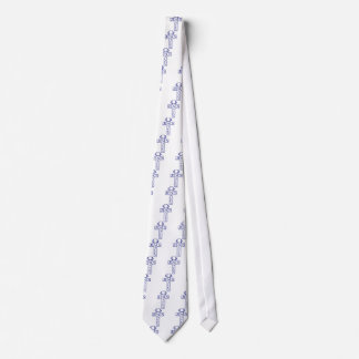 jesus sparar blått slips