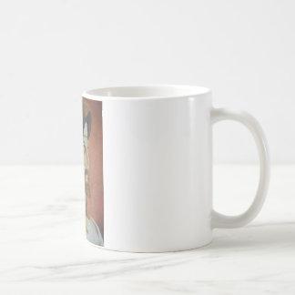 Jesus sparar kaffemugg