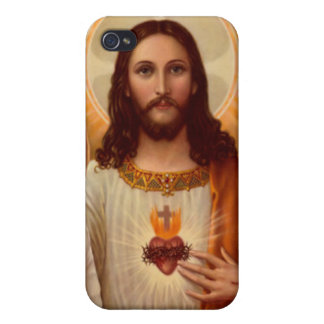 Jesus Speckfodral iPhone 4 Skal