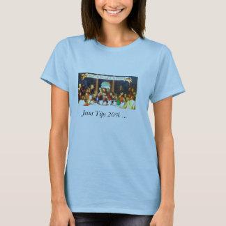 Jesus tippar 20%… tee shirt