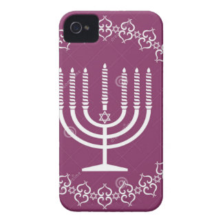jewish-menorah-holiday-vector-background-27207795. Case-Mate iPhone 4 skydd