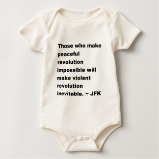 JFK-citationstecken Bodies För Bebisar
