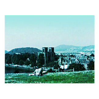jGibney för Skottland Inverness slottkonst Vykort