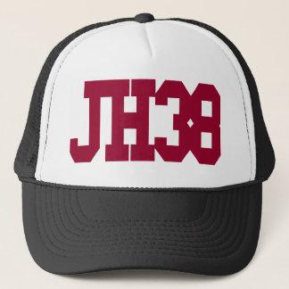 JH38… är det en hatt, vad annat gör något att säga Truckerkeps