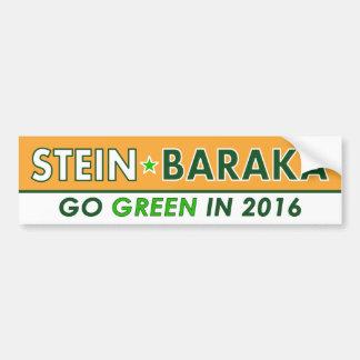 Jill Stein/Baraka - Miljöpartietbildekal Bildekal
