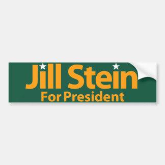 Jill Stein för president Bildekal