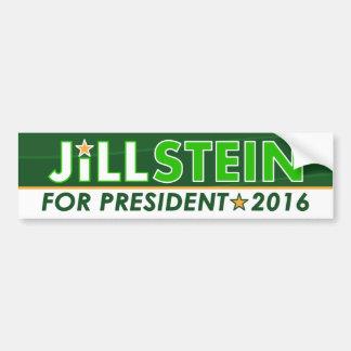 Jill Stein - politisk bildekal för Miljöpartiet