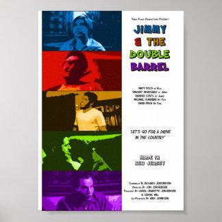 Jimmyn och den dubbla trummafilmen poster (8x11)