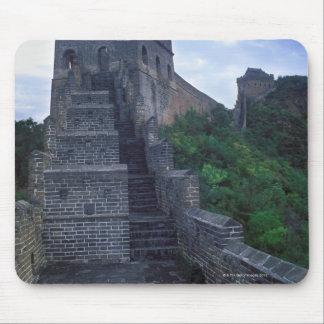 Jinshanlingen delar upp av väggen byggdes musmatta