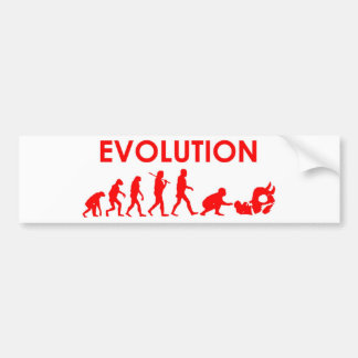 Jiu Jitsu evolution Bildekal