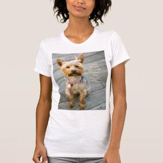 "jjheleneYorkshire Terrier ""Nina"" Jersey T-tröja T Shirts"