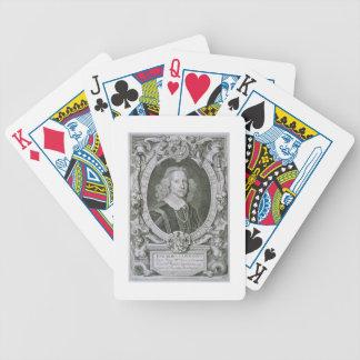 Joachim Camerarius, från 'porträttdes Hommes dålig Spel Kort