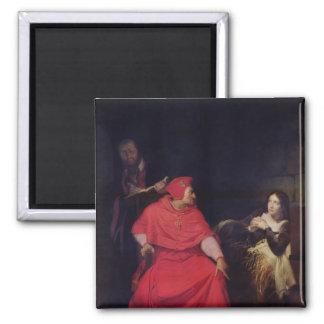 Joan av bågen och kardinalen av Winchester Magnet