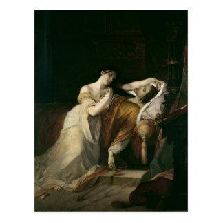 Joanna det tokigt med Philip mig det stiligt Vykort